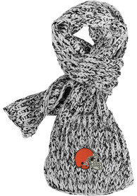 Cleveland Browns Womens Marled Scarf - Brown