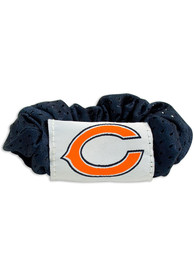 Chicago Bears Youth Team Color Hair Scrunchie - Navy Blue