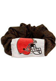 Cleveland Browns Youth Team Color Hair Scrunchie - Orange