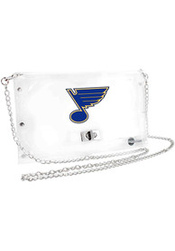 St Louis Blues Stadium approved Clear Bag - White