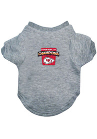 Kansas City Chiefs Super Bowl LIV Champions Pet T-Shirt