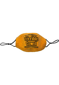 Pittsburgh Steelers Terrible Towel Fan Mask - Yellow