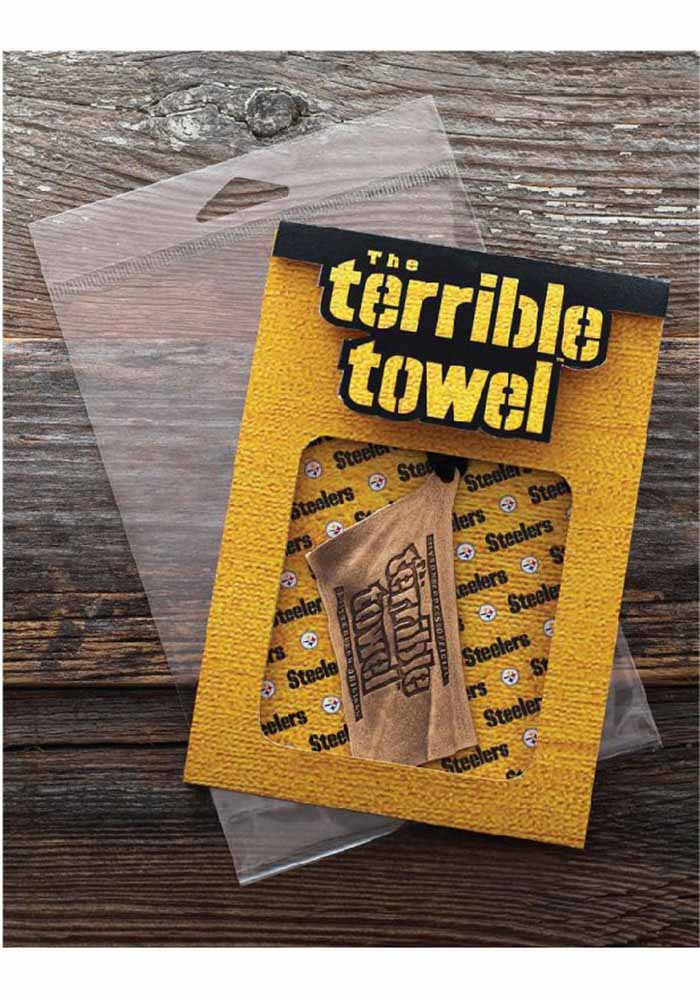 Pittsburgh Steelers Terrible Towel Bronze Ornament
