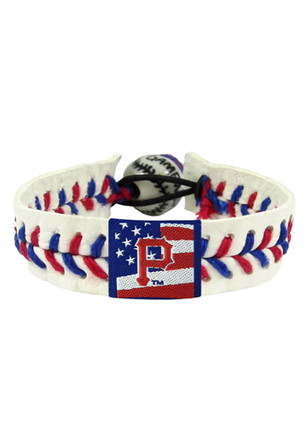 Pittsburgh Pirates Stars and Stripes Bracelet