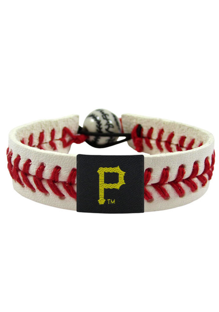 Pittsburgh Pirates Classic Baseball Mens Bracelet - Image 1