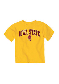 Iowa State Cyclones Toddler Gold Arch Mascot T-Shirt