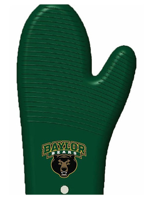Baylor Bears Oven BBQ Grill Mit