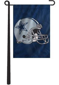Dallas Cowboys 10.5x15 Blue Garden Flag