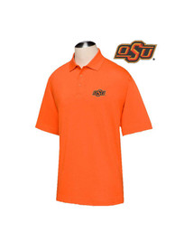 Oklahoma State Cowboys Cutter and Buck DryTec Championship Polo Shirt - Orange
