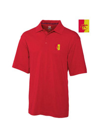 Cutter and Buck Pitt State Gorillas Mens Red DryTec Championship Short Sleeve Polo Shirt