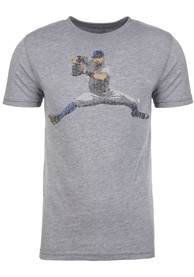 Rougned Odor Texas Rangers Grey Spelled Out Fashion Player Tee