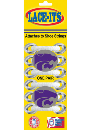 K-State Wildcats Charm Shoelaces