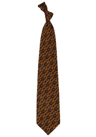 Texas Longhorns Repeat Tie - Burnt Orange