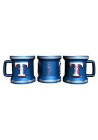 Texas Rangers 2oz Mini Sculpted Mug Shot Glass