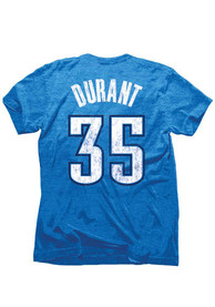 Kevin Durant Oklahoma City Thunder Grey Tri-Blend Player Tee