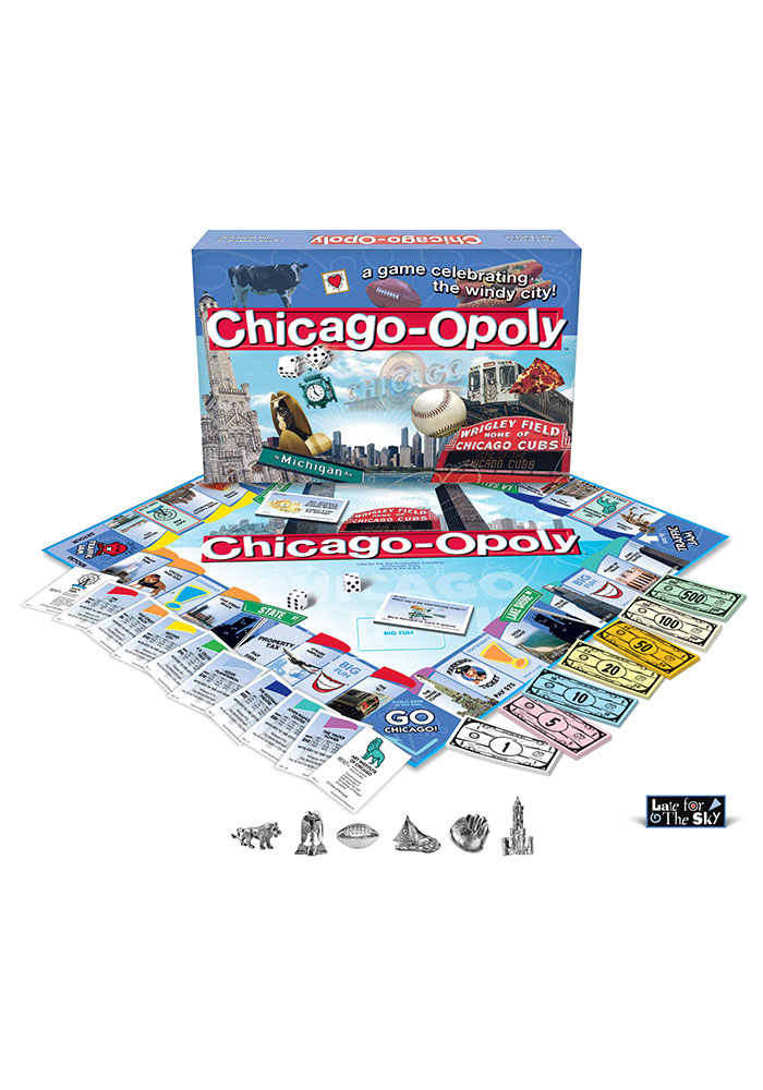 Chicago Monopoly Game - Image 1