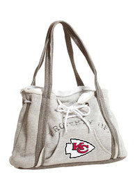 Kansas City Chiefs Womens Hoodie Purse - Grey