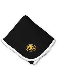Iowa Hawkeyes Baby Knit Blanket - Black