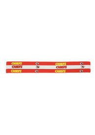 Kansas City Chiefs Womens 3 Pack Elastic Headband - Red
