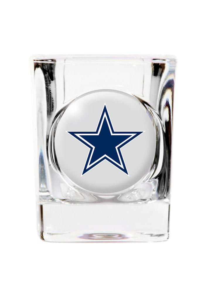Dallas Cowboys 2oz Square Shot Glass - Image 1