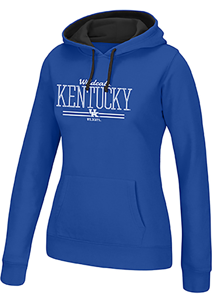 Top of the World Kentucky Wildcats Womens Blue Essential Hooded Sweatshirt - Image 1