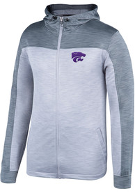 K-State Wildcats Top of the World Rally Elect Zip - Grey