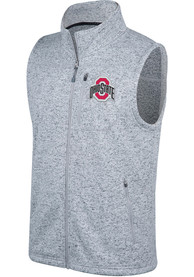 Top Of The World Ohio State Buckeyes Grey Double Up Vest