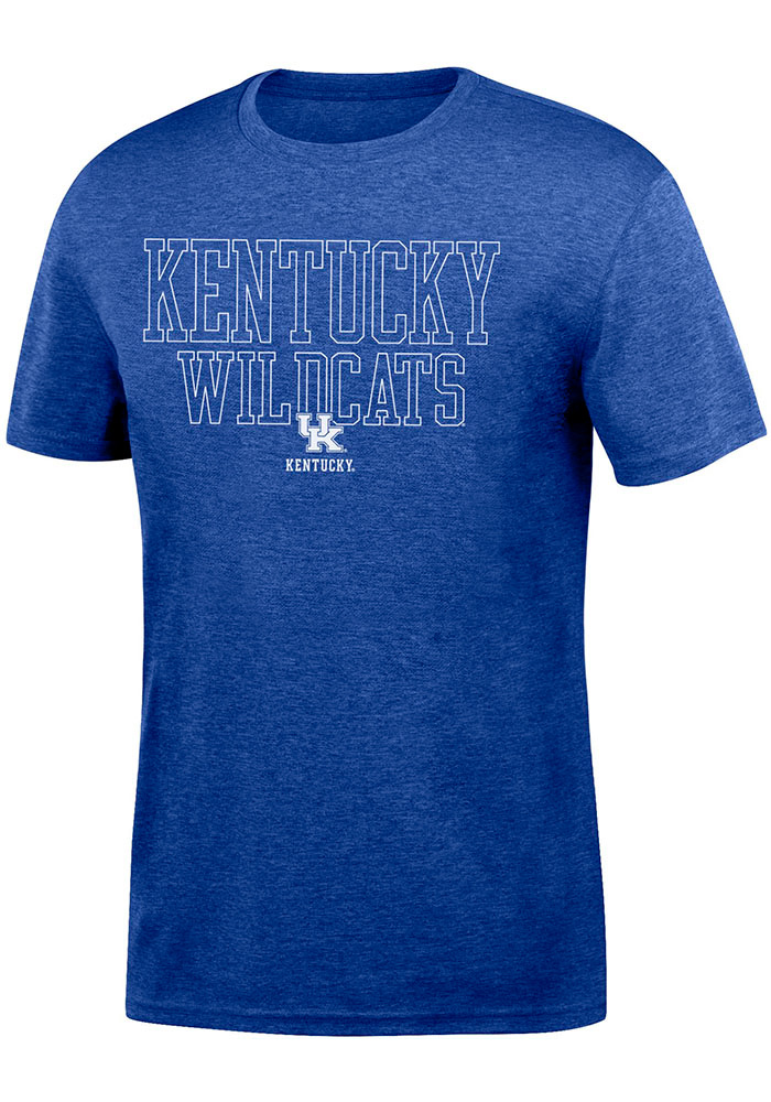 Top of the World Kentucky Wildcats Blue Heathered Chrome Tee