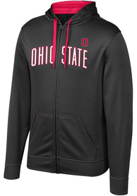 Ohio State Buckeyes Top of the World Foundation Zip - Black