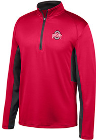 Ohio State Buckeyes Top of the World K2 1/4 Zip Pullover - Red