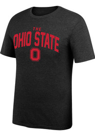 Ohio State Buckeyes Top of the World Arch Mascot Fashion T Shirt - Black