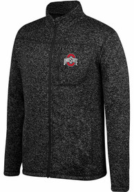 Ohio State Buckeyes Top of the World Pioneer Medium Weight Jacket - Charcoal