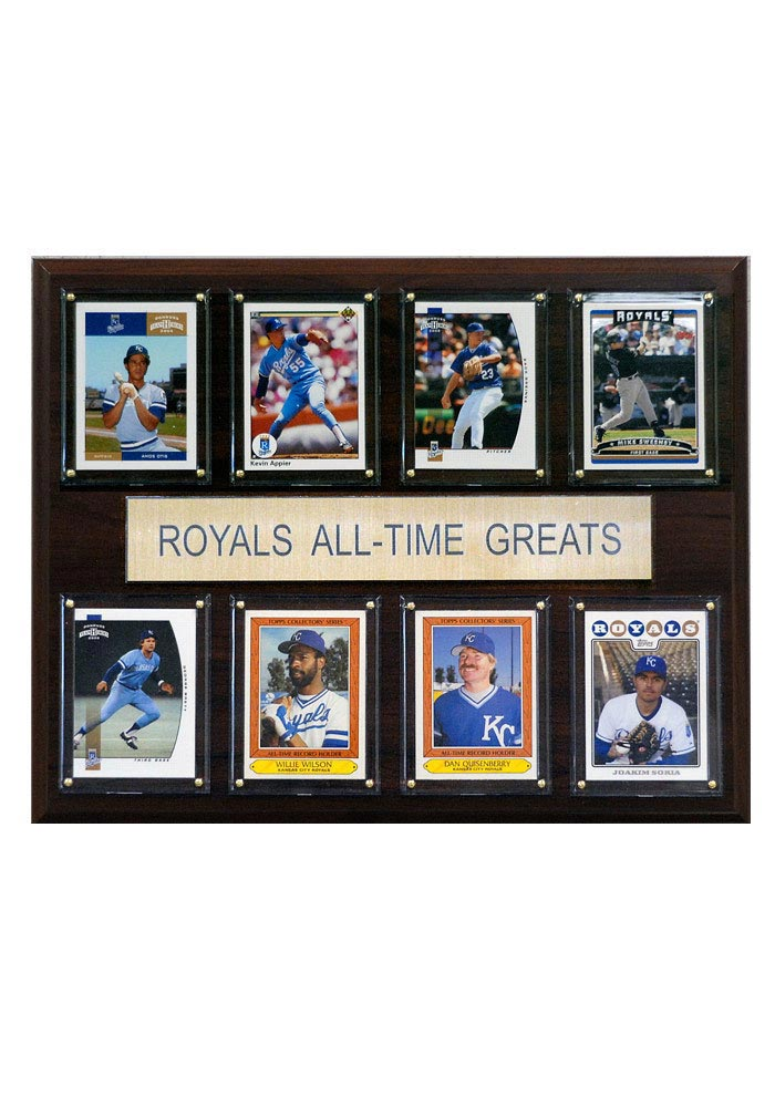 Kansas City Royals 12x15 All-Time Greats Player Plaque - Image 1