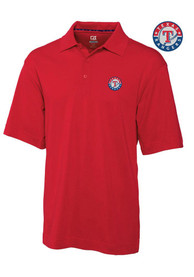 Texas Rangers Cutter and Buck Championship Polo Shirt - Red