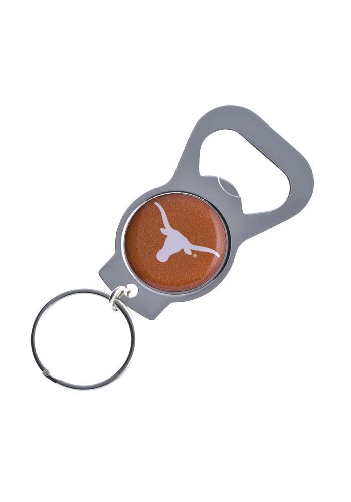 Texas Longhorns Bottle Opener Keychain - Image 1