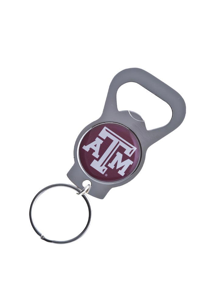 Texas A&M Aggies Bottle Opener Keychain - Image 1