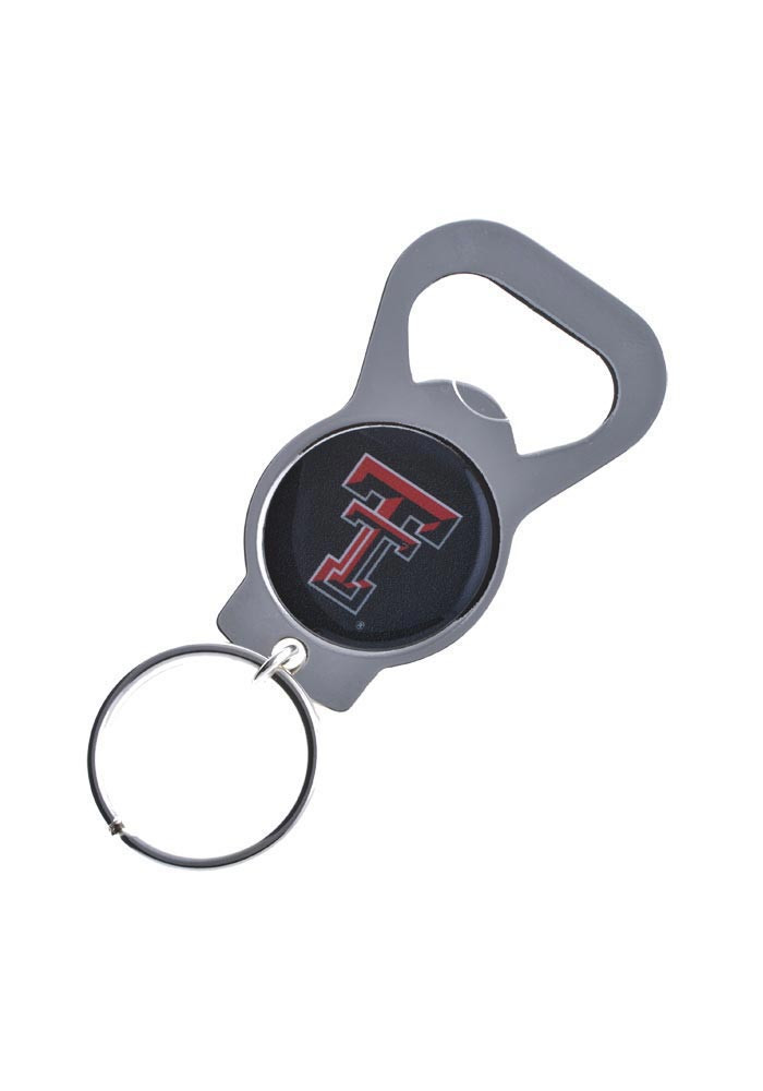 Texas Tech Red Raiders Bottle Opener Keychain - Image 1