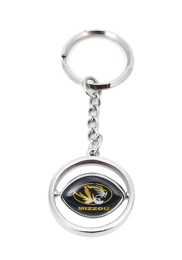 Missouri Tigers Football Spinner Keychain - Image 1
