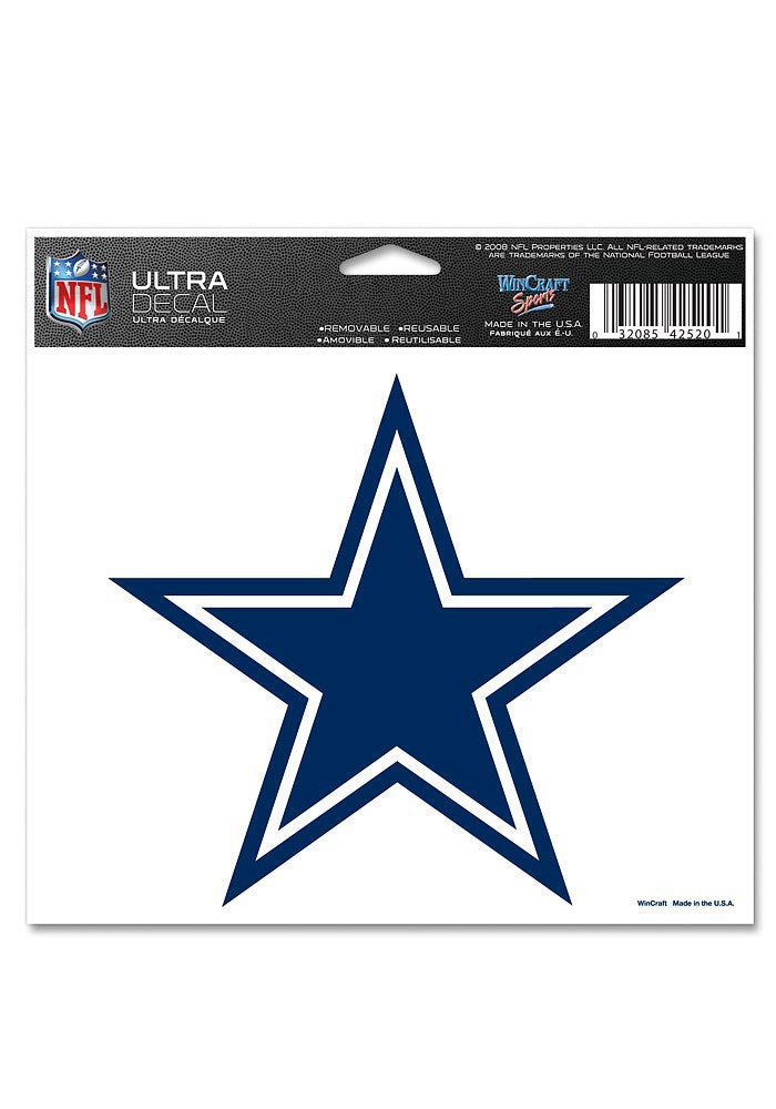 Dallas Cowboys 5x6 Ultra Decal - Image 1