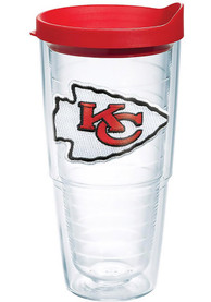 Kansas City Chiefs 24oz Clear Tumbler