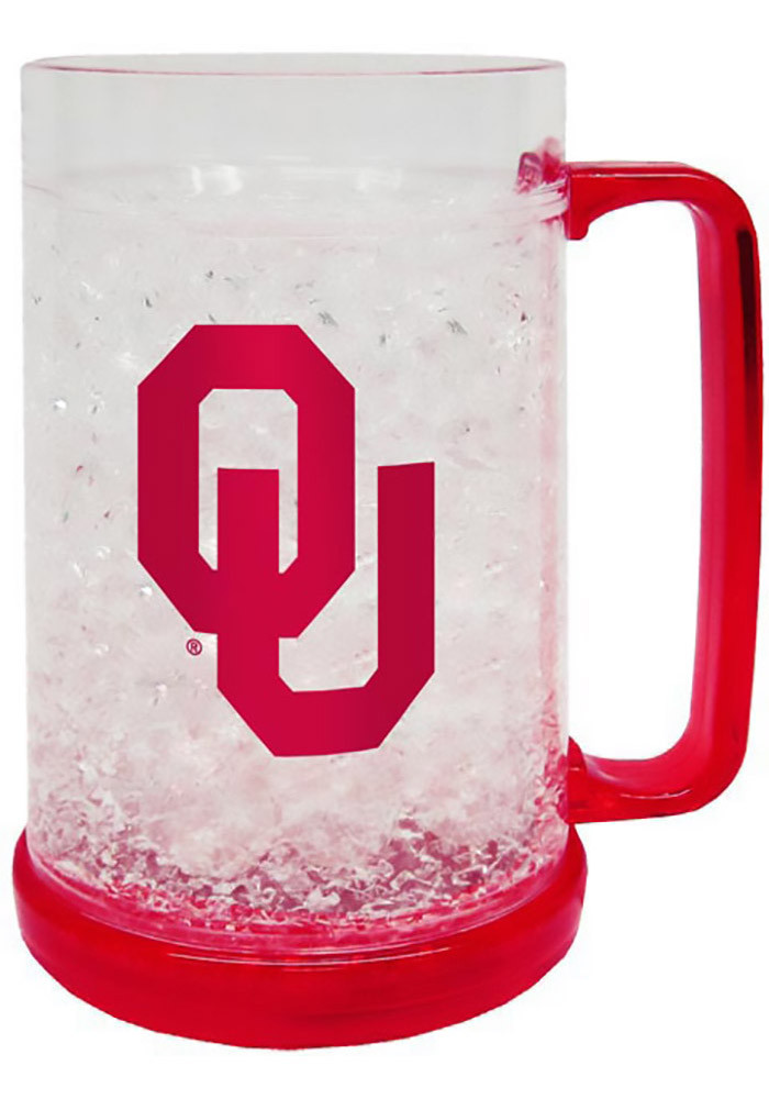 Oklahoma Sooners Red Freezer Mug - Image 1