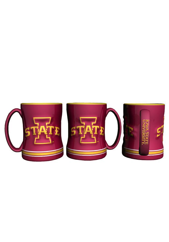 Iowa State Cyclones 15oz Sculpted Mug - Image 1