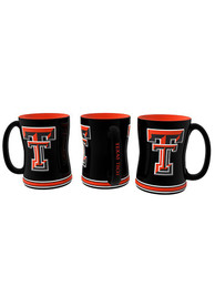 Texas Tech Red Raiders 15oz Sculpted Mug