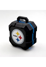 Pittsburgh Steelers Black Second Gen Shock Box LED Speaker