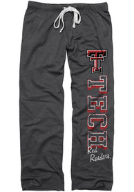 Texas Tech Red Raiders Womens Black Sweatpants