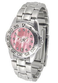 Oklahoma State Cowboys Womens Sport Steel Watch - Silver