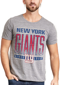 Junk Food Clothing New York Giants Grey Touchdown Fashion Tee