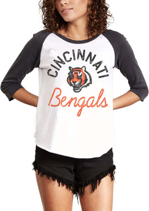 Junk Food Clothing Cincinnati Bengals Womens All American White T-Shirt