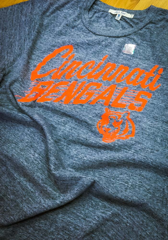 Junk Food Clothing Cincinnati Bengals Grey Cinci Town Short Sleeve Fashion T Shirt - Image 2