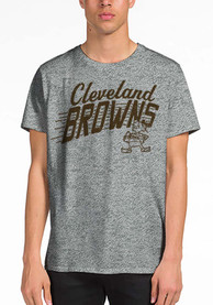 Junk Food Clothing Cleveland Browns Grey Cle Town Fashion Tee